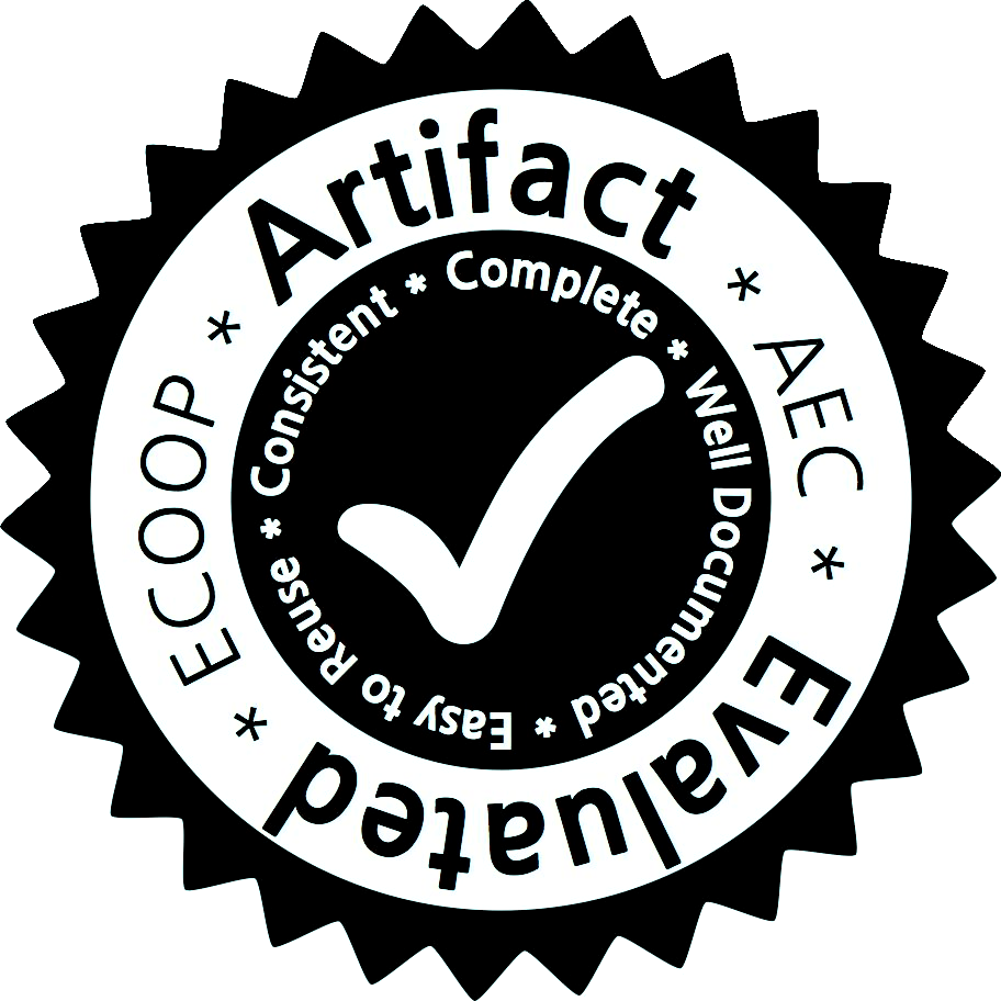 ecoop_artifact_evaluated